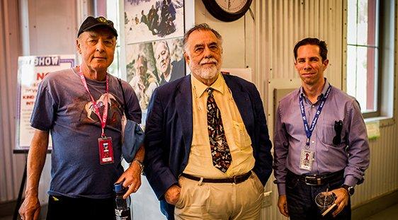 Tom Luddy, Francis Ford Coppola, and Scott Foundas