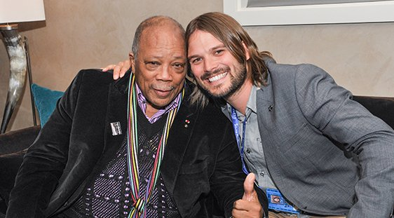 Quincy Jones and Al Hicks