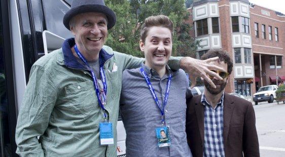 Tom Noonan, Duke Johnson, and Charlie Kaufman