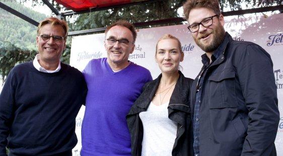 Aaron Sorkin, Danny Boyle, Kate Winslet and Seth Rogen