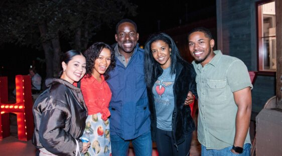 Taylor Russell, Alexa Demie, Sterling K. Brown, Renée Elise Goldsberry, and Kelvin Harrison, Jr.