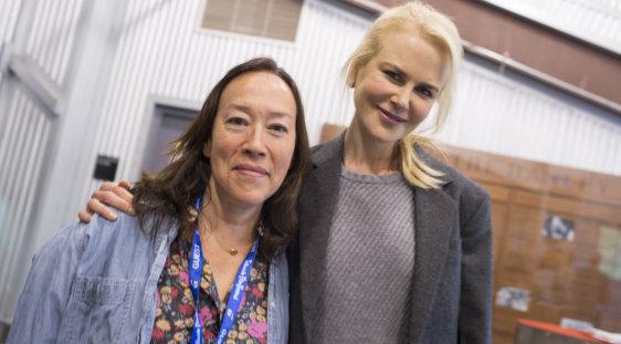 Karyn Kusama and Nicole Kidman