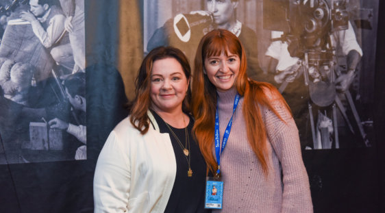 Melissa McCarthy and Marielle Heller
