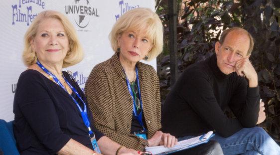Jill Wine-Banks, Lesley Stahl and Charles Ferguson